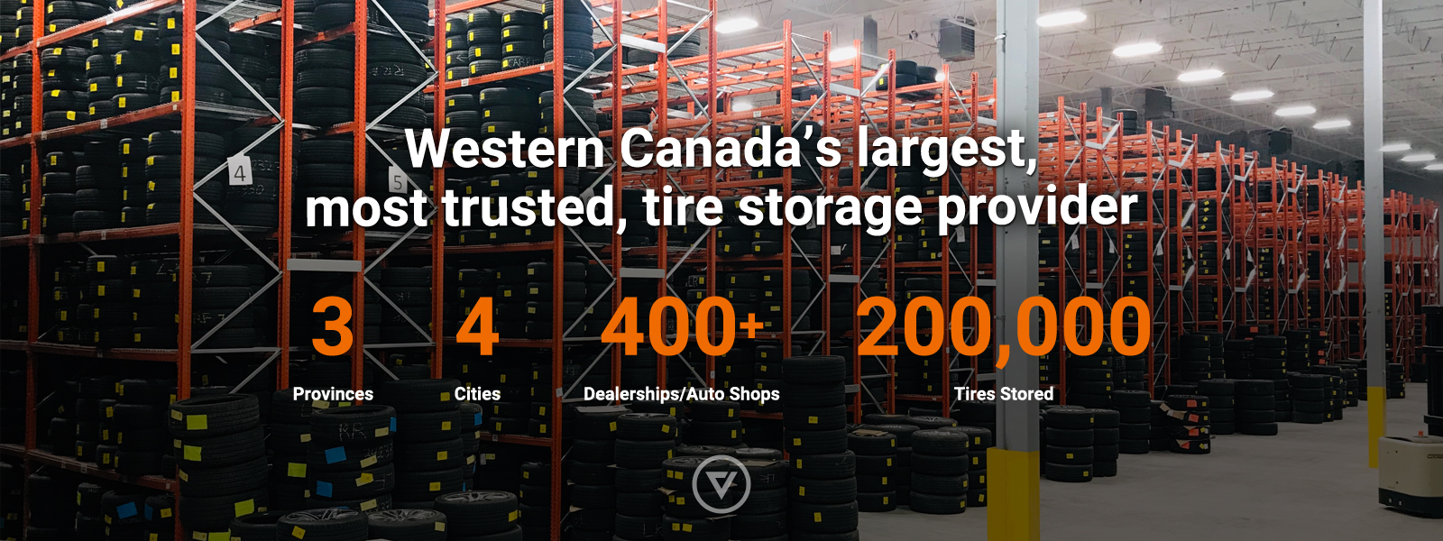 Western Canada's largest, most trusted, tire storage provider